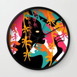 STRAWBERRY-&-TIGERS Wall Clock