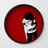 madonna Wall Clocks featuring Madonna by elvisbr
