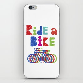 Ride a Bike - Sketchy iPhone Skin