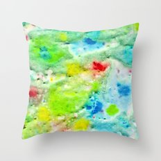 Fire In The Swamp Throw Pillow