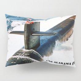 USS ALABAMA (SSBN-731) Pillow Sham