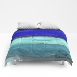 Midnight Waves Seascape Comforters
