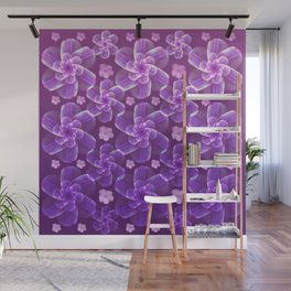 flowing florals Wall Mural
