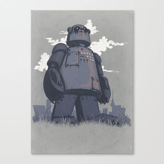 Panda 2K Canvas Print