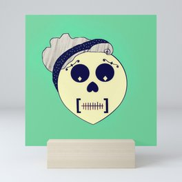 Day of the Dead Pin-up Mini Art Print