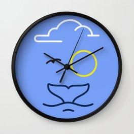 Philipp Von Whale Wall Clock
