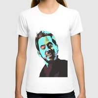 mike wrobel T-shirts featuring Mike Shinoda by Lyre Aloise
