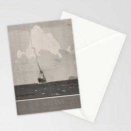 deko LMS To Ireland voyage poster Stationery Cards
