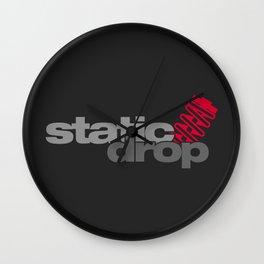 Static drop v1 HQvector Wall Clock