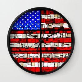 Glass Tribute Wall Clock