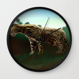 Meet the wild brother - Part 1 Wall Clock