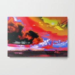 Boat's Requiem Metal Print