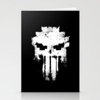 punisher Stationery Cards featuring Space Punisher by RicoMambo