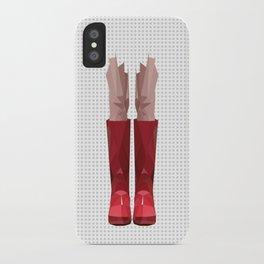 My lovely rain booths iPhone Case