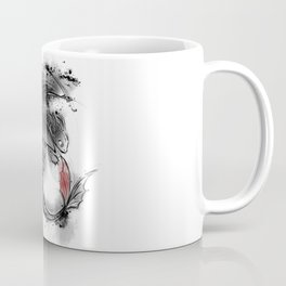 Sumi-e Dragon Coffee Mug