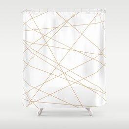 Stries Shower Curtain