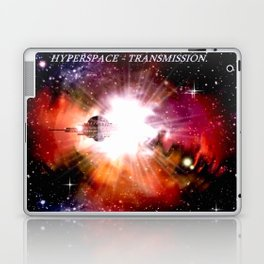 Hyperspace - Transmission. Laptop & iPad Skin