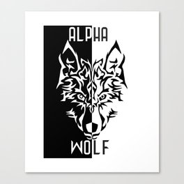 Alpha Wolf Canvas Print