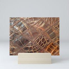 Leather Mini Art Print