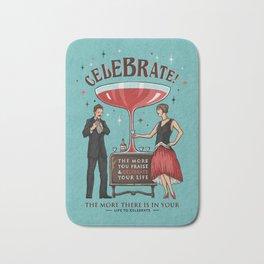 Let's Celebrate Bath Mat