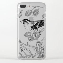 Eurasian Siskin Clear iPhone Case