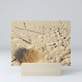 Rippled Sand Dunes at Monahans Sandhills Mini Art Print