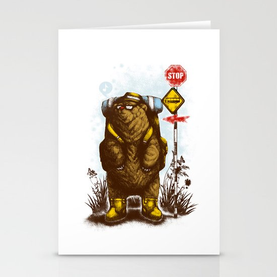 travelling 3.0 Stationery Cards