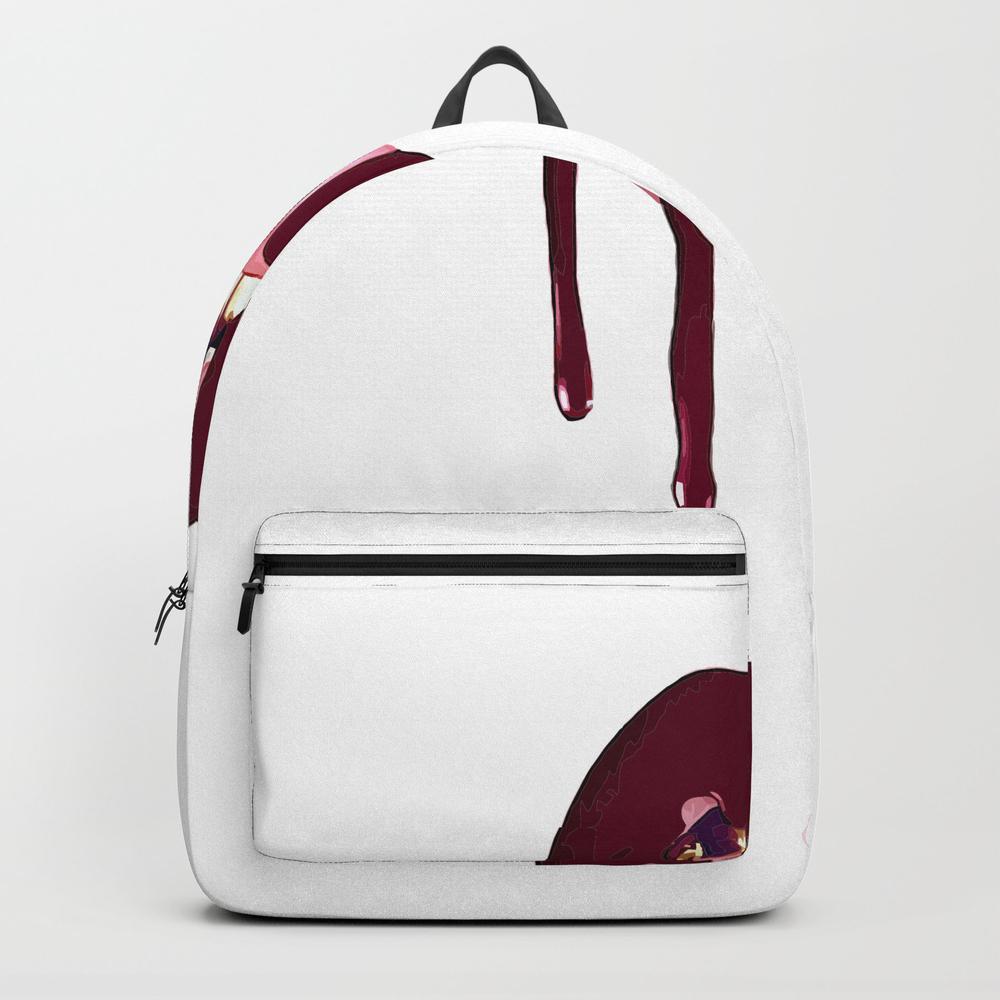 Kylie Jenner Lip Kit Backpack by Vortexs BKP8421789