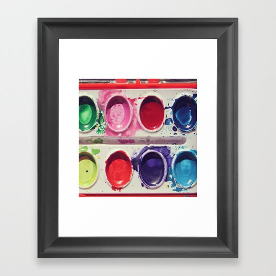 Watercolors Framed Art Print