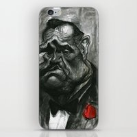 godfather iPhone & iPod Skins featuring The Godfather by MK-illustration