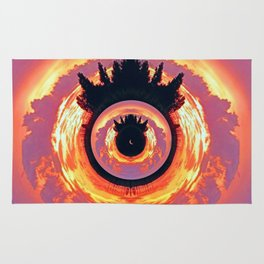 A World Within A World - The Eye Rug