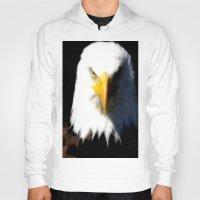 eagle Hoodies featuring Eagle by Brian Raggatt