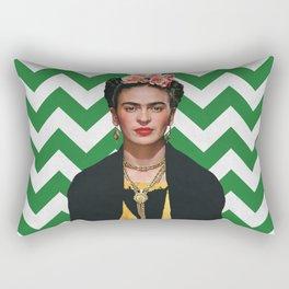 Frida Kahlo Photography I Rectangular Pillow