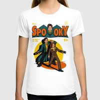 comic T-shirts featuring Spooky Comic by harebrained