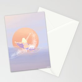 The Ripper | Surfer Girl Surf Art Stationery Cards