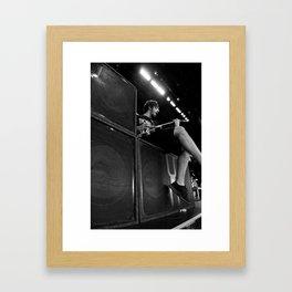 All Time Low - BONER Framed Art Print