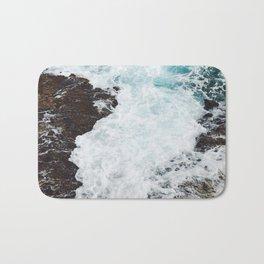 Crashing waves in the Caribbean Sea Bath Mat