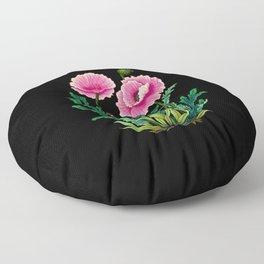Minhwa: Poppy: Opera B Type  Floor Pillow