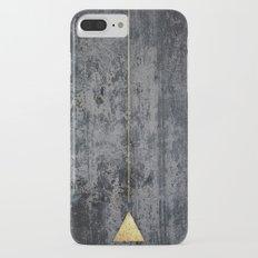 gOld triangle iPhone 7 Plus Slim Case