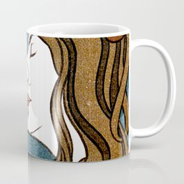Two Faces Kissing by Peter Behrens  Coffee Mug