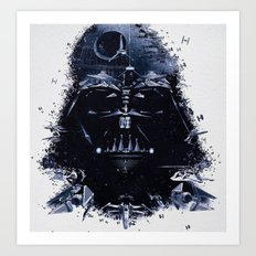 Night Shadows in the SW Universe  Art Print