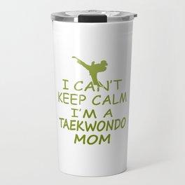 I'M A TAEKWONDO MOM Travel Mug