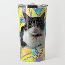 Zoe In Feline Seafare Delight Travel Mug