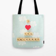 I Heart The Universe Tote Bag
