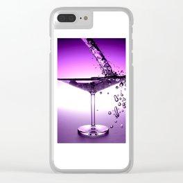 Martini Clear iPhone Case