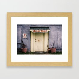 Sunshine Square Framed Art Print