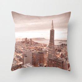 SAN FRANCISCO IV Throw Pillow