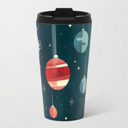 Joy to the Universe (in Teal) Travel Mug
