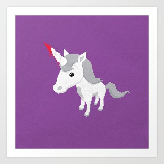 Accidental Legends: Unicorn Art Print