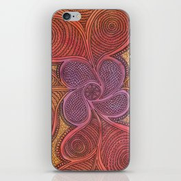 Free Your Mind in Color iPhone Skin
